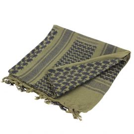 Shemagh Olive Noir - Mil-Tec 7871557a0c97