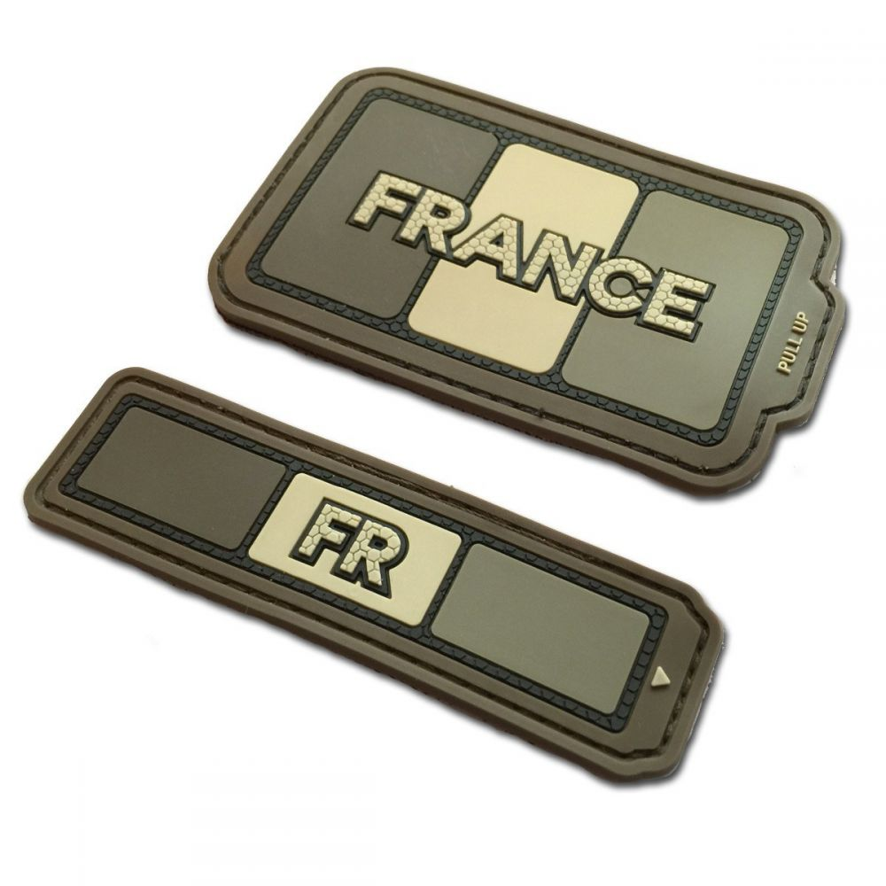 patch duo tricolore france serval coyote m tac. Black Bedroom Furniture Sets. Home Design Ideas