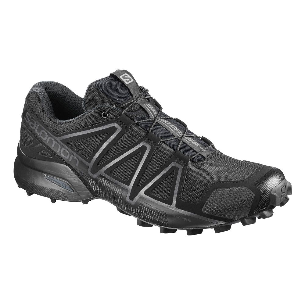 Chaussures Speedcross 4 Wide Forces Noir Salomon